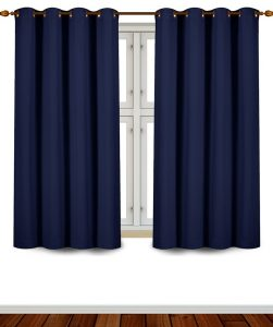 #6. Room darkening blackout curtains