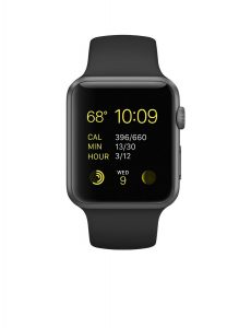 #1. Apple smart watch 42mm