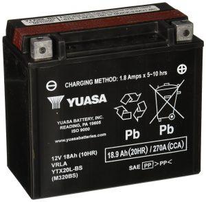 #2. YUASA YTX14-BS Yamaha ATV Baterry