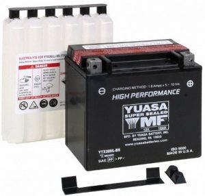 #3. Yuasa YUAM320BS YTX20L-BS Yamaha Battery