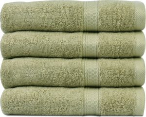 #4. Cotton Large Hand and Bath Towels