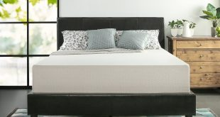 #4. Zinus memory foam 12'' tea mattress-Queen