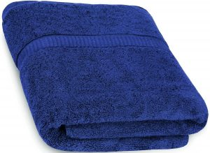 #7. Cotton Bath Towels by Utopia Towels