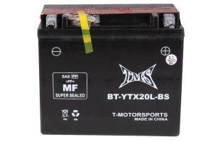 #7. YTX20L-BS GTX20L-BS TMS Yamaha YFM Kodiak Battery 2