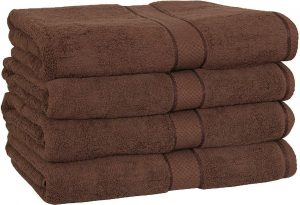 #8. Utopia Cotton Bath towels