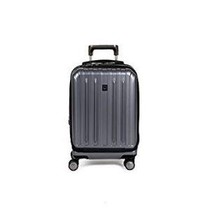 #9. Delsey luggage helium titanium international carry on
