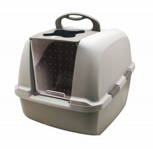 1. Hagen Catit Hooded Cat Litter Box