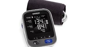 #1. Omron 10 Series Wireless Upper Arm Blood Pressure Monitor with Bluetooth Smart Connectivity