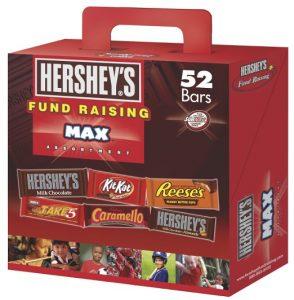 10.Hershey's Assortment, Fund Raising Max