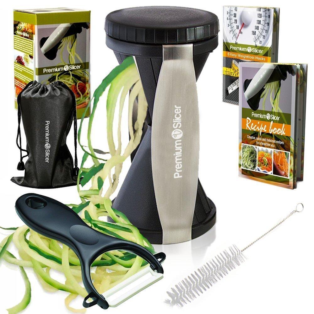 2. Premium Vegetable Spiralizer Bundle - Spiral Slicer