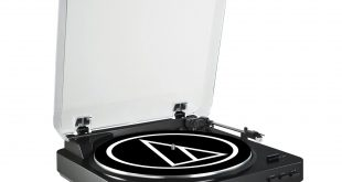 2. Audio Technica AT-LP60BK Fully Automatic Record System (Black)