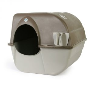 2. Omega Paw Self Cleaning Automatic Litter Box