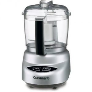 #2. Cuisinart DLC-2ABC Mini Prep Plus Food Processor (Brushed Chrome)