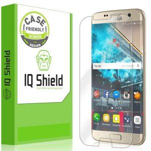 2.Galaxy S7 Edge Screen Protector, IQ Shield LiQuidSkin Full Coverage Screen Protector
