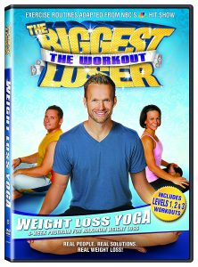 #2.Wight Loss Yoga DVD