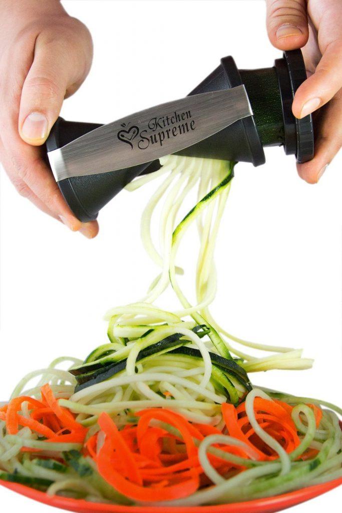 3. Kitchen Supreme Spiral Vegetable Slicer