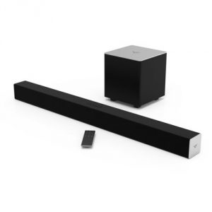 3. VIZIO SB3821-C6 2.1 Channel Sound Bar