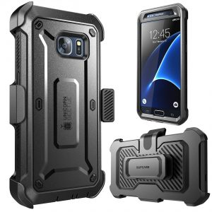 3. SUPCASE Full-body Rugged Holster Case Galaxy S7 Case