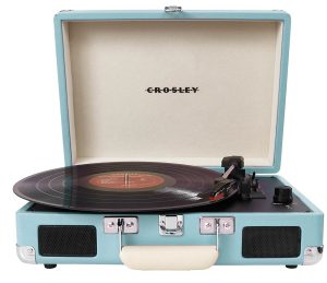 4. Crosley CR8005A-TU Cruiser Portable Record Player