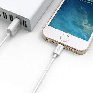 4. Anker Apple MFi Certified Lightning to USB Cable