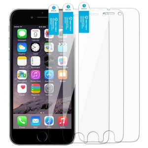 4. Arcadia Premium High-Quality Transparent Screen Protector, iPhone 6s Screen Protector