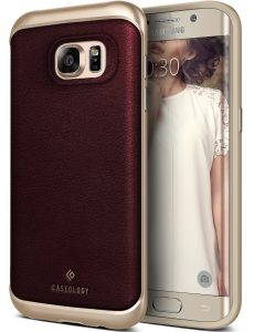 4. Caseology Envoy Series Galaxy S7 Edge Case