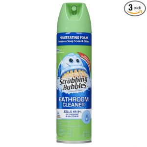 #4. Scrubbing Bubbles Antibacterial Automatic bathroom cleaner Aerosol