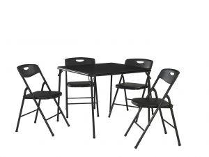 5. Cosco products 5 piece folding chair and table set