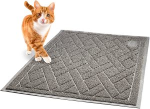 5. Pawkin Phthalate Free Cat Litter Mat