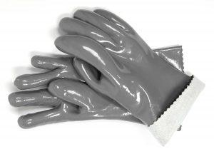 5. Steven Raichlen Heat Resistant Barbecue Gloves