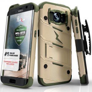 5. Zizo Bolt Series Samsung Galaxy S7 Edge Case