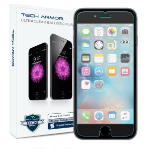 6. Tech Armor Premium Ballistic Glass Apple iPhone 6S Plus / iPhone 6 Plus Glass Screen Protector