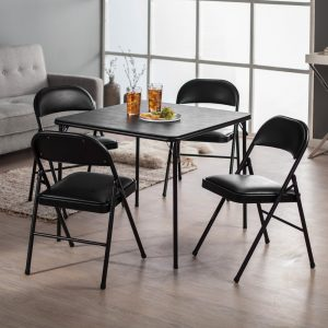 7. Meco Sudden Comfort chair and table set