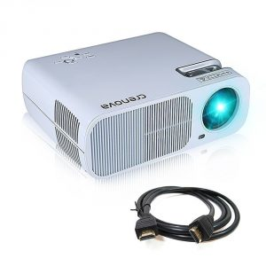 #7. Projector, Crenova XPE600 BL20 Home Cinema Theater Projector