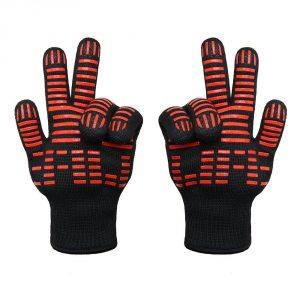 7. TTLIFE BBQ Grilling Cooking Gloves