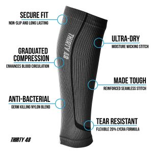 7.Graduated Compression Sleeves by Thirty48 Cp Series