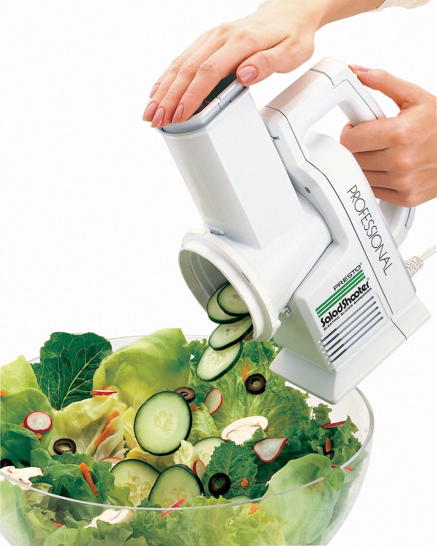7. Presto 02970 Professional SaladShooter Electric Slicer/Shredder
