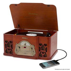 8. Electrohome EANOS502 Wellington Record Player