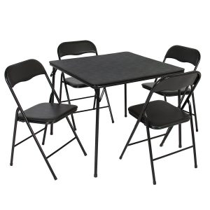 8. Best Choice Products 5PC Folding Table & Chair