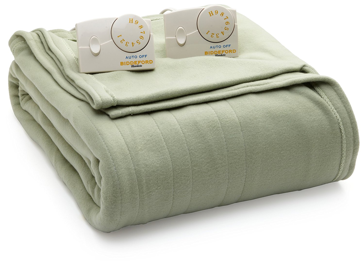 8. Biddeford Blankets Comfort Knit Heated Blanket