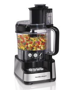 #8. Hamilton 70725A Beach 12-Cup Snap Food Processor