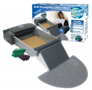 9. SmartScoop Automatic Self-Cleaning Litter Box