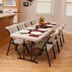 9. Portable Banquet folding tables