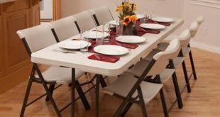 9. Portable Banquet folding tables