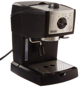 1. De Longhi EC155 15 Bar Espresso Maker