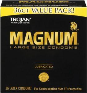 1. Trojan Magnum Women's Condom
