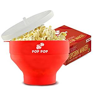 10. Pop Pop Silicone Microwave Popcorn Maker