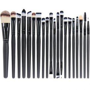 10. EmaxDesign 20 Pieces Makeup Brush Set