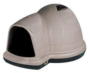 2. Petmate Indigo Indoor Dog House with Microban