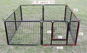 2. BestPet Heavy Duty Pet Playpen Dog Exercise Pen